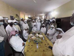 العروسة كريمة الفنان علي مهدي …مصاهرة سودانية اماراتية