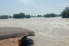 إنقطاع طريق الخرطوم – الدمازين بسبب مياه الأمطار وزيادة مناسيب النيل الأزرق